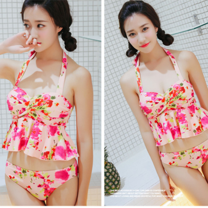 New Fashion Bikini Three-Piece Fema..