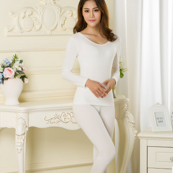 Render long Johns ultra-thin v-neck..