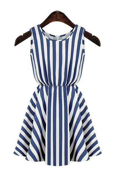 Stripes Printed Dress