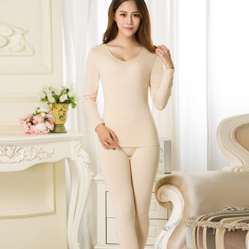 Render long Johns ultra-thin v-neck thermal clothing fever underwear